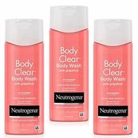 Neutrogena 露得清 粉红葡萄柚 磨砂沐浴露 250ml*3瓶 *2件