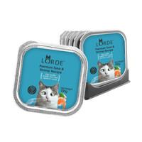 LORDE里兜 猫罐头猫成猫幼猫罐头猫湿粮100g*6罐 吞拿鱼虾肉味 *2件
