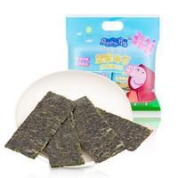 小猪佩奇Peppa Pig 坚果海苔 儿童宝宝零食(分享装)6g*7包 *12件