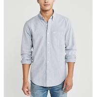 Abercrombie&Fitch 300987-1 AF 男装牛津条格纹衬衫