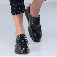奥康  133612006 男士系带软面真皮皮鞋