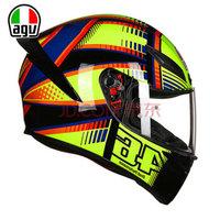 AGV 头盔 K1 TOP 四季通用 广角通风透气全盔跑盔日月罗拉 SOLELUNA 2015