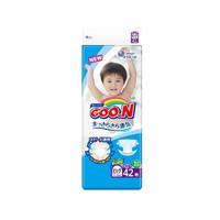 GOO.N大王维E系列加大号婴儿纸尿裤尿不湿XL号XL42片(12kg-20kg)