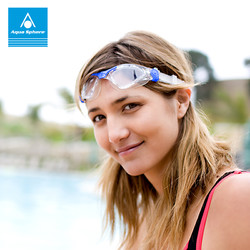 aquasphere进口泳镜高清防水防雾男女儿童大框游泳镜专业游泳装备 *3件