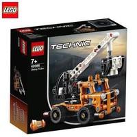 乐高积木机械组男孩小颗粒拼装玩具 42088 车载式吊车(需用券)