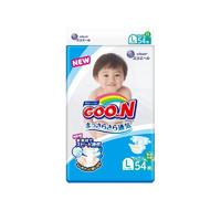 GOO.N 大王 维E系列 婴儿纸尿裤 L 54片
