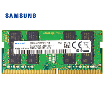 SAMSUNG 三星 DDR4 2666MHz 笔记本内存 16GB