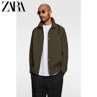 ZARA新款 男装 秋冬教练式夹克外套 03918302505