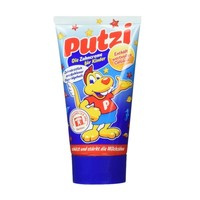 putzi 儿童防蛀牙膏 加钙