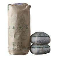 福海茶厂 普洱茶 勐海生沱茶 2019年青沱 500g *5件