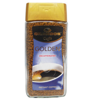GRANDOS 格兰特 古德脱咖啡因黑咖啡 100g *3件