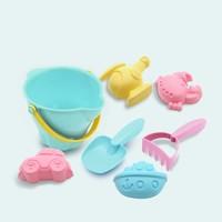 安源小子 儿童沙滩玩具 7件套