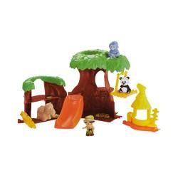 Fisher-Price 费雪 小探索家树屋 积木早教玩具