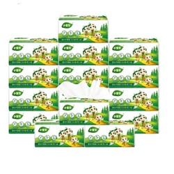 小宝贝抽纸 婴儿卫生纸巾餐巾纸擦手纸面巾纸企业团购4层加厚27包 *2件