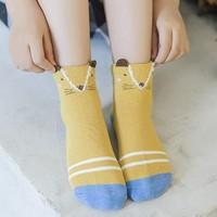 雅鹿    儿童棉袜子   5双装