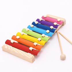 儿童手敲八音阶敲琴玩具
