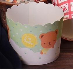 鸿蓝 蛋糕纸杯 50只 6*5*4.5cm 随机图案