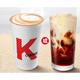 KFC 肯德基 中杯现磨咖啡拿铁 1杯 电子券码 4.9元