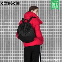 cote&ciel2018秋冬新款FW秋冬款苹果笔记本双肩包外星人电脑防水单肩斜跨包男女商务背包