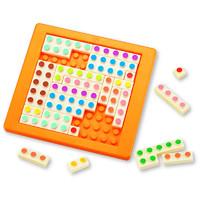 KUMON蒙氏教具数字100加法运算拼板积木