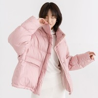 考拉工厂店 高保暖减龄短款面包服羽绒服 *2件