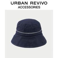 URBAN REVIVO2019夏季新品女士配饰文艺风渔夫帽AG20SA4N2001