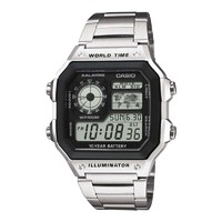 CASIO 卡西欧 AE-1200WHD-1AVDF 多动能男士手表