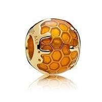Pandora 潘多拉 767120EN158 金色蜂蜜串饰
