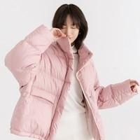考拉工厂店 高保暖减龄短款羽绒服 *2件