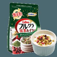 卡乐比抹茶风味水果麦片600g*2袋59.9元 *2件
