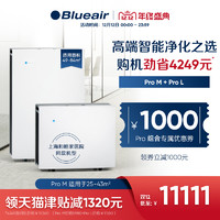 Blueair/布鲁雅尔Pro M+Pro L家用智能空气净化器 吸烟除甲醛烟尘
