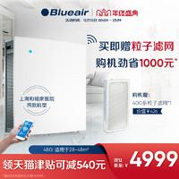 Blueair智能空气净化器家用除甲醛吸二手烟雾霾客厅室内480i
