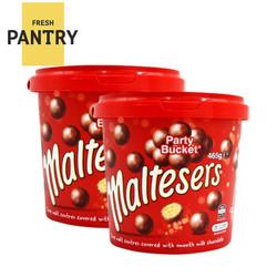 Maltesers 麦提莎 超纯麦丽素夹心巧克力桶 465g*2 +凑单品