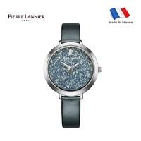 Pierre Lannier/连尼亚 施华洛世奇元素星钻系列法国女士石英手表 095M689 *3件