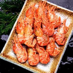 浓鲜时光 俄罗斯火龙虾格陵兰虾带籽 70-90只 1kg