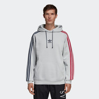 adidas Originals 3 STRIPE HOODY EC3673 男装连帽套头衫