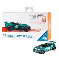 """Hot Wheels 特斯拉模型 S id '15 Jaguar F-Type Project 7 """"Multi"""""""