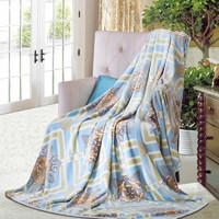 FUANNA 富安娜 春秋垫床保暖法兰绒毛毯 150cm*200cm