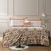FUANNA 富安娜 法兰绒毛毯垫床被子办公室冬季午睡毯双人宿舍床单铺床毯子