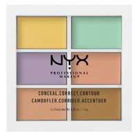 NYX Professional Makeup 6色修容遮瑕盘