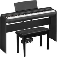 YAMAHA 雅马哈 P-125 电子数码钢琴88键重锤 黑色