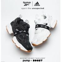 adidas x Reebok INSTAPUMP FURY BOOST  联名充气运动鞋