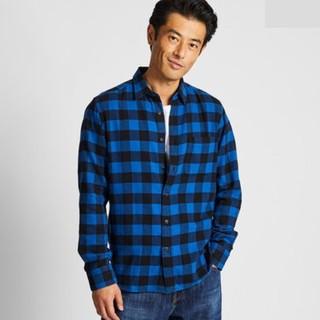 12号:UNIQLO 优衣库 421196 法兰绒格子衬衫