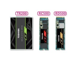 TOSHIBA 东芝 TR200/RC500/RD500系列 固态硬盘