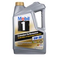 Mobil 美孚 1号长效EP 5W-30 SN级 全合成机油 5QT/4.73L *3件