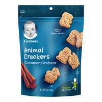 Gerber 嘉宝 婴幼儿动物曲奇饼干 170g *10件