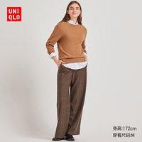 女装 羊绒圆领针织衫(长袖) 418676 优衣库UNIQLO