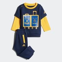 12号:adidas 阿迪达斯 婴童印花套装
