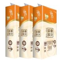 清风 原木无芯卷纸 卫生纸 750g 3层10卷*3提