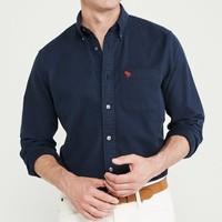 12日0点、明星同款 :  Abercrombie&Fitch 264401 男士牛津衬衫